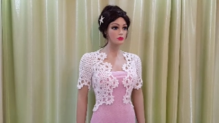 How to crochet a bolero step by step