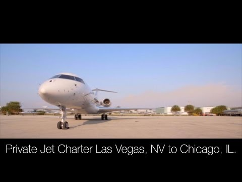 Private Jet Charter Las Vegas, NV to Chicago, IL