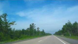 Driving: Hayward to Superior, Wisconsin - TimeLapseForay