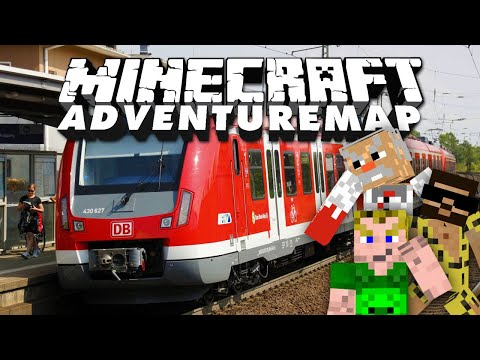 Bahn-Horror-Geschichten ???? Adventure-Map Parkour Paradise 2 #15