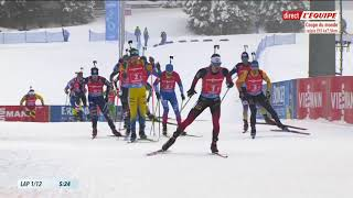 Biathlon 2021 Antholz relais hommes