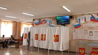видео В Севастополе начались первые в истории выборы президента России