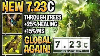 NEW 7.23C TREANT SKILLS — GLOBAL Living Armor + Nature's Guise BACK (Patch)