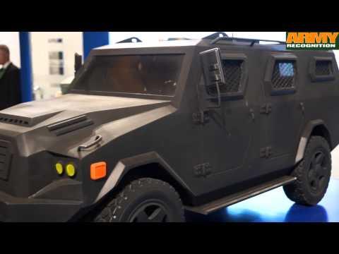 Streit Group range of armored vehicles at INDODEFENCE 2014 defense exhibition Jakarta