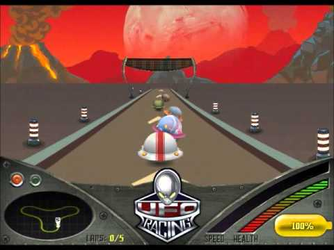 UFO Racing - Alien Racing Game for kids