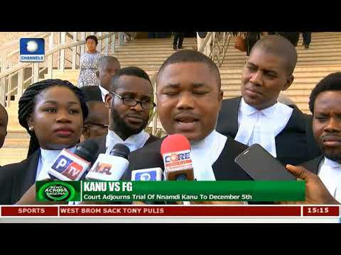 Judge's Absence Stalls Trial Of Nnamdi Kanu |News Across Nigeria|