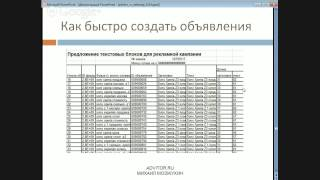 Обучение Яндекс Директ.