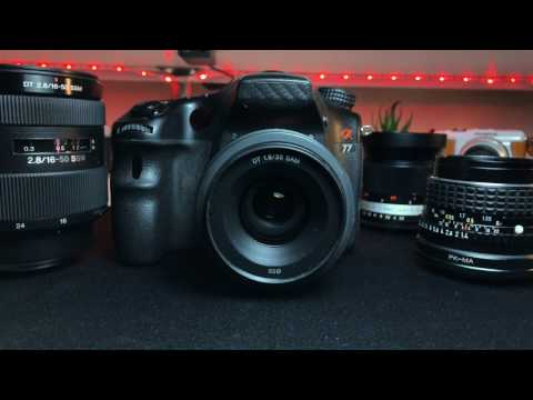 HACK! Sony Alpha A-Mount PRIME Lenses | Recording Video Mode with Auto Focus HACK!