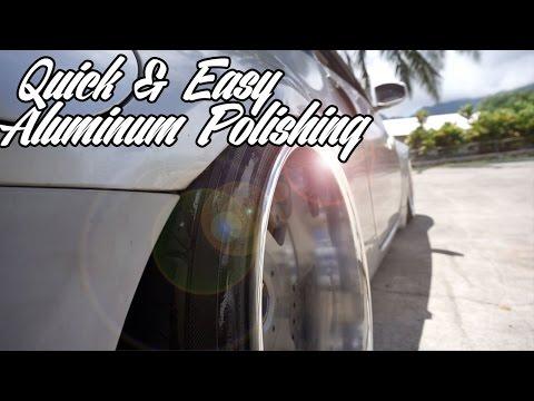 BIG LIPS?!  How to:Polish Aluminum Wheels