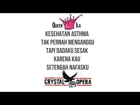 Adila [ QUEEN ILA ] X CRYSTAL OPERA - PATAH HATI [ OFFICIAL VIDEO LYRIC ]