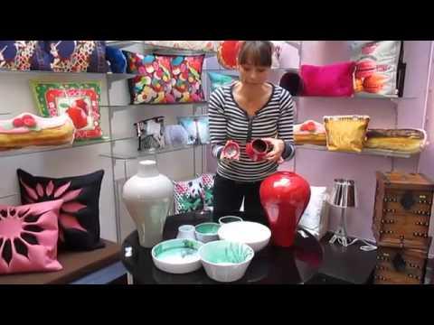 Service de table | Décoration | vase | HsH - Ming d\'IBRIDE - YouTube