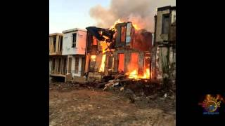 Baltimore City 7 Alarm Fire Outbreak 11/2/14 with FD Radio Traffic