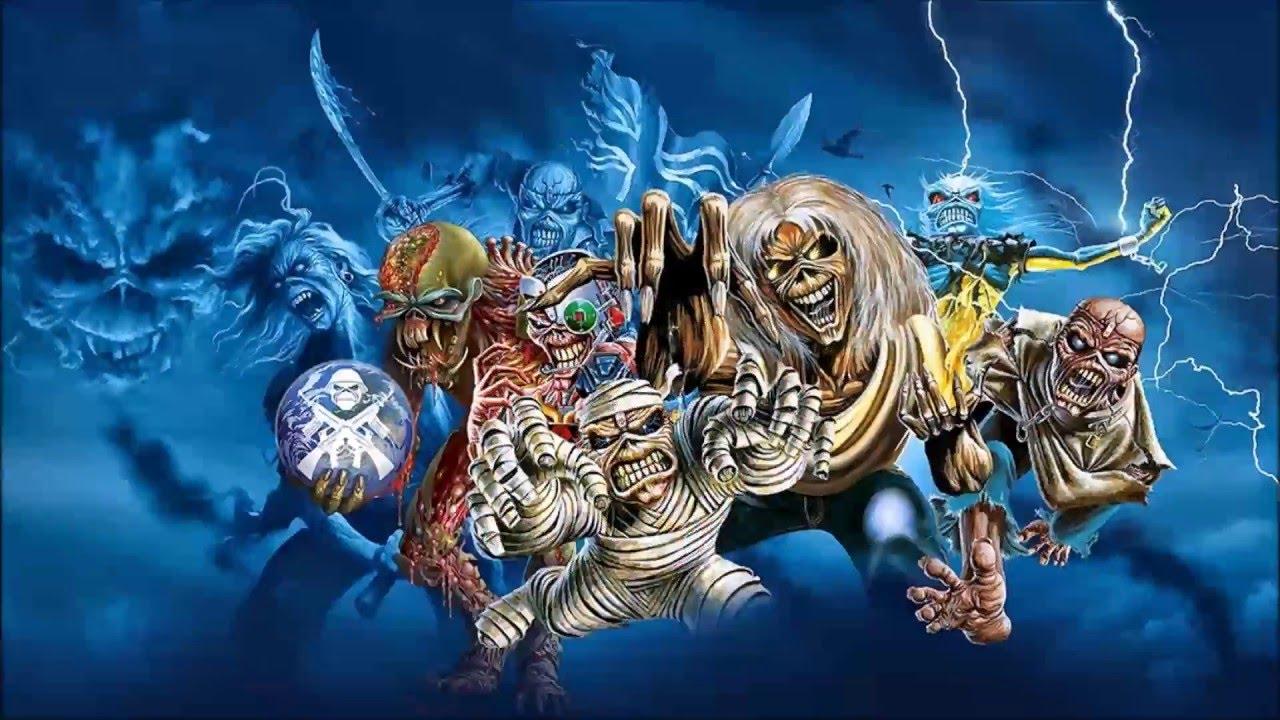 Iron Maiden Eddie On Stages Youtube