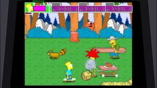 Game | Let s Play The Simpsons Arcade Complete Playthrough as Bart | Let s Play The Simpsons Arcade Complete Playthrough as Bart