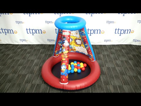 Mickey Mouse Color Nu0027 Play Activity Playland Ballpit from Moose Mountain & Mickey Mouse Color Nu0027 Play Activity Playland Ballpit from Moose ...