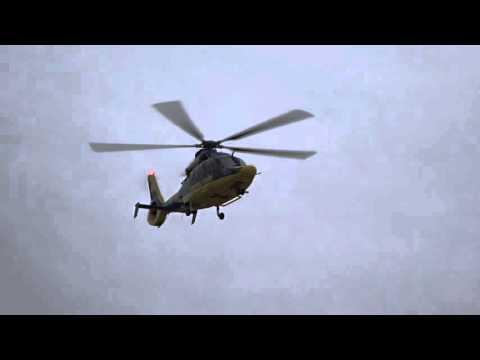 University of Michigan Health System Survival Flight Taking Off
