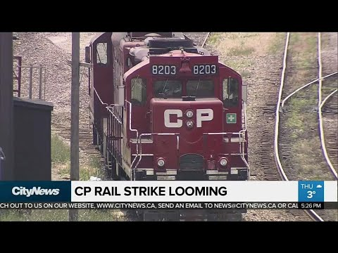 Business Report: CP Rail strike looming