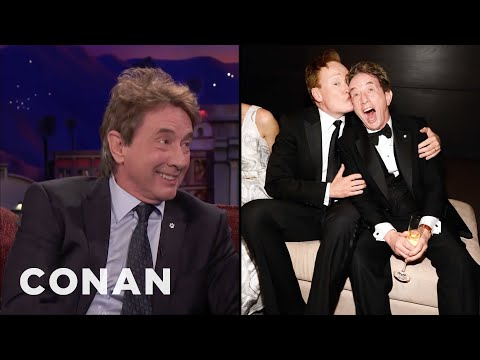 Martin Short & Conan Are Regulars At The Vanity Fair Oscar Party  - CONAN on TBS
