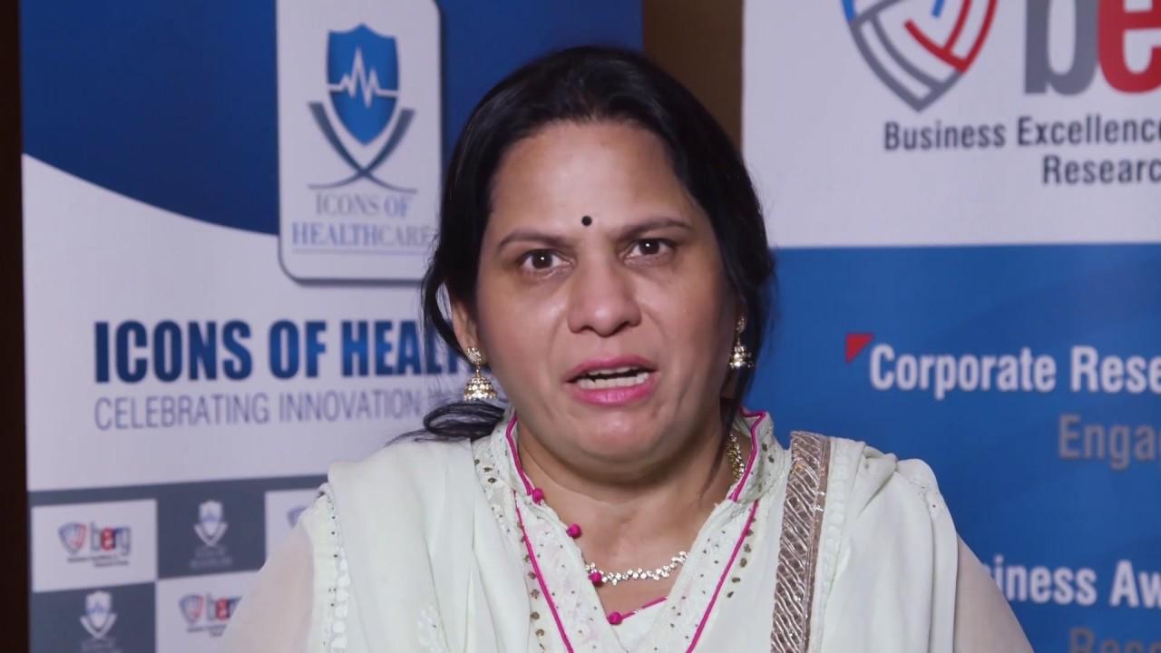 Satya Vadlamani, Managing Director, Murli Krishna Pharma, Pune, India at  Icons of Healthcare 2017