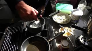 How To Make Bulgarian Poached Eggs With Feta And Yogurt, Aka Panagurski Eggs.