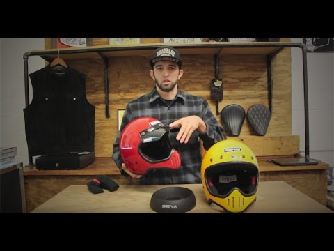 23b4d349 Simpson M50 Motorcycle Helmet Overview - Deadbeatcustoms.com - YouTube
