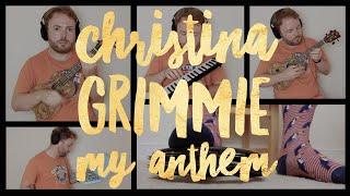 Christina Grimmie - My Anthem (UKULELE TUTORIAL / COVER - TRIBUTE)