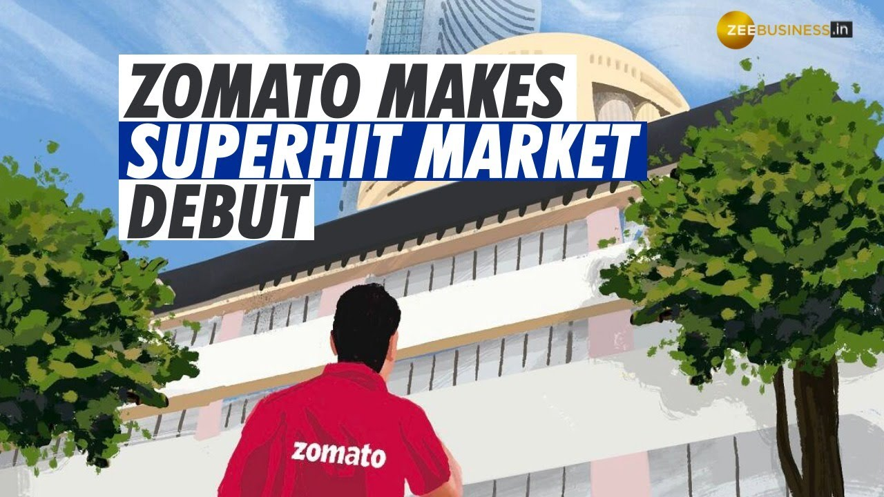 Zomato IPO: Foodtech platform makes superhit market debut