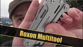 Was kann das Roxon Multi Tool?  EDC Messer