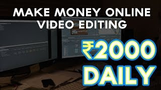 Online Video Editing Jobs without investment in india