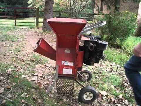 Troy Built Chipper Super Tomahawk 2 In 1 Shredder 8hp Briggs And Stratton Engine