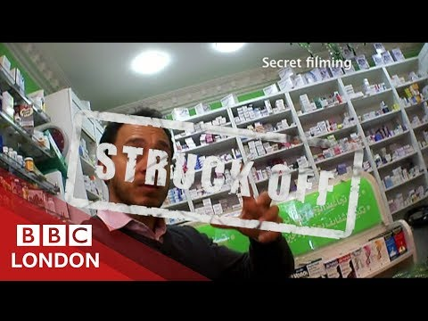 Exposing Rouge Pharmacies - BBC London