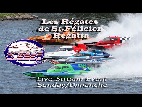 ACHA - 10th St-Félicien Regattas Live Stream - Sunday