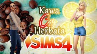 Tworzę Simki jako KAWĘ i HERBATĘ - SIMS 4 CAS Maxis Match + Mody +prace widzów