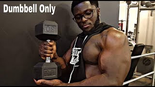 INTENSE CHEST WORKOUT - Dumbbell Only!