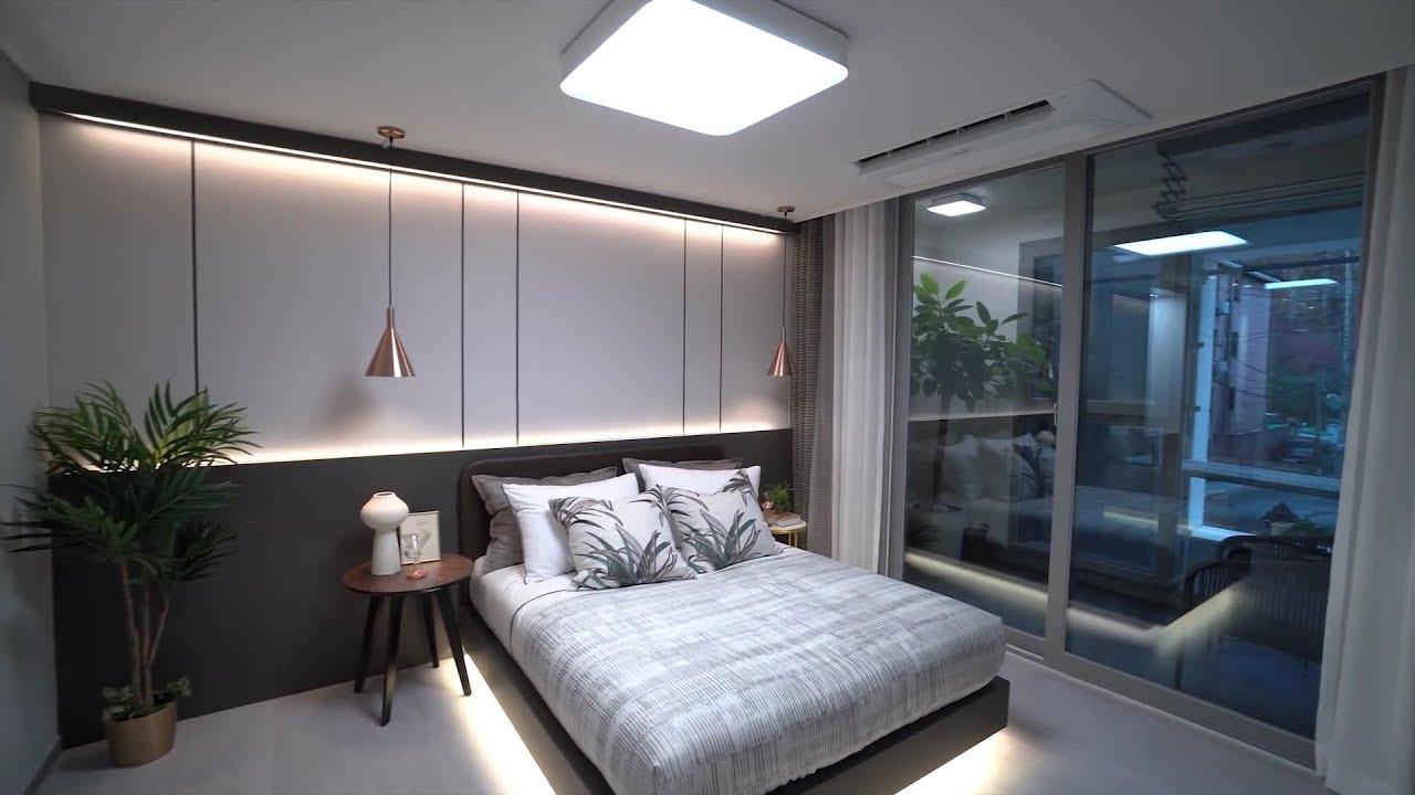 10 Desain Kamar Tidur Minimalis Ala Korea Dengan Kamar Mandi Dalam Ada Walk In Closet Dan Bathtubnya Youtube