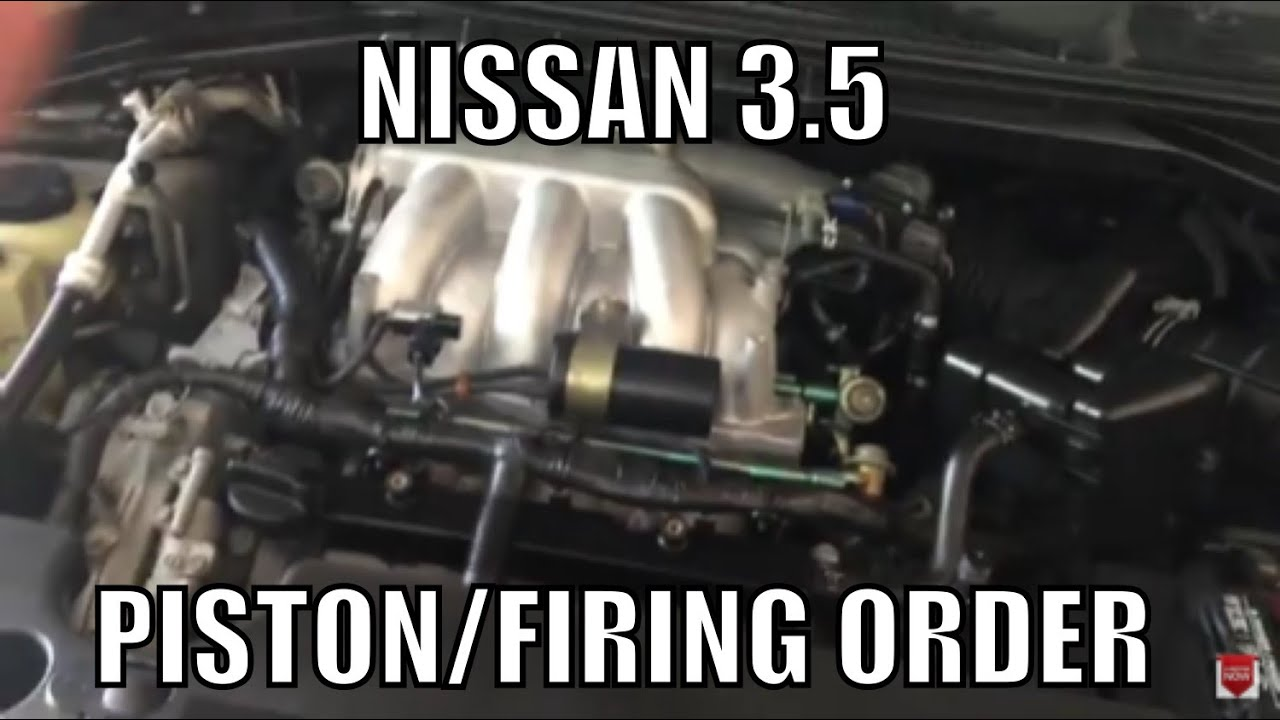 medium resolution of nissan 3 5 firing order piston order