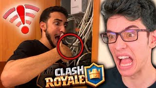 TROLLEI O FLAKES CORTANDO A INTERNET (CLASH ROYALE) Diário do Top 1