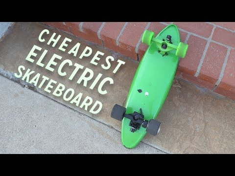 The Cheapest Electric Skateboard!