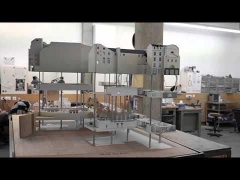 Maquette Architecture New Tone Raspail