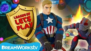 Disney Infinity Figures Marvel Battlegrounds: Ant-Man vs Black Panther | LEAGUE OF LET'S PLAY