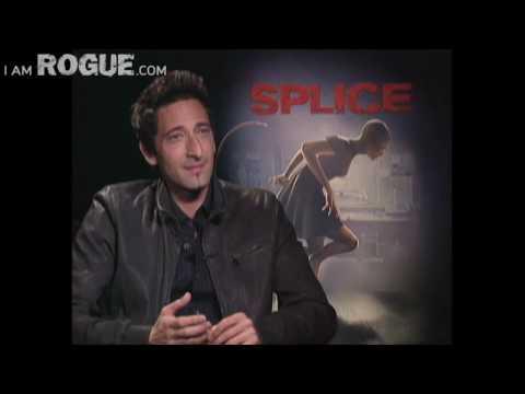Adrien Brody and Delphine Chanéac of SPLICE