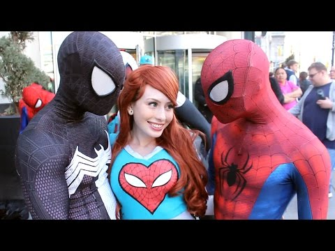 Spider-Man: Spider-Verse Flash Mob Prank