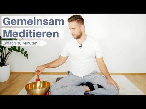 Meditieren lernen - 10 Minuten geführte Meditation für Anfänger