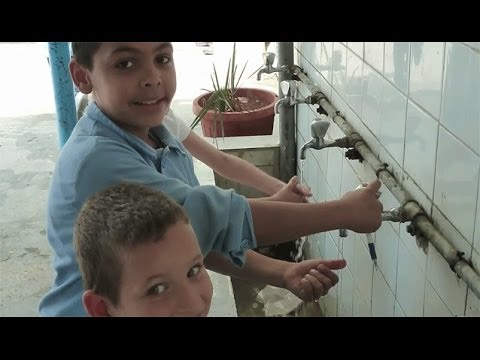 Water - precious commodity in Lebanon's Palestinian refugee camps