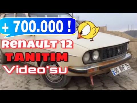 Renault 12 tantm videosu glme krizine sokan video ARABA UURUMDAN UTU D