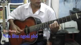 Nửa Đêm Ngoài Phố - Guitar