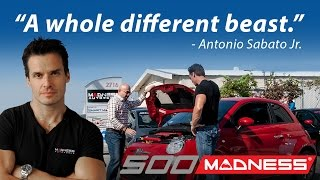 """A whole different beast!"" Antonio Sabato Jr. / 500 MADNESS - Stage 1"