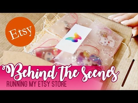 Etsy Behind The Scenes
