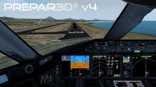 Prepar3D v4.4 | Manchester to Lanzarote | EGCC-GCRR | QualityWings 787-8