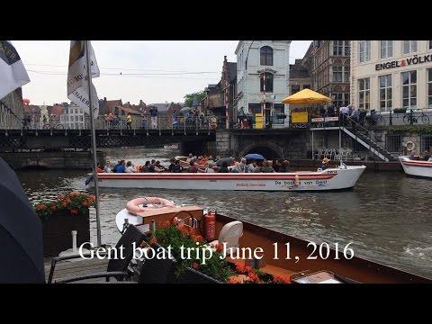 Gent boat trip June 11 2016